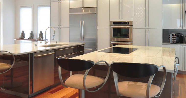 Don't Be Afraid to Use Modern Materials in Your Kitchen—We Can Show You How!