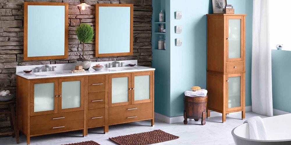 Fantastic Custom Design Build Bath Vanity Wood  Westchester NY
