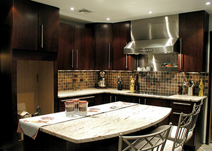 Modern Kitchen Design - Eastchester, NY