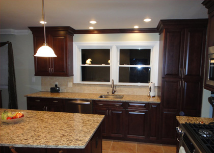 Mahogany Kitchen Cabinetry - White Plains, NY