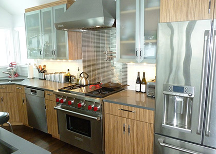 Transitional Kitchen Renovation - New Rochelle, NY