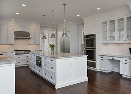 White Kitchen Cabinets - Pleasantville, NY