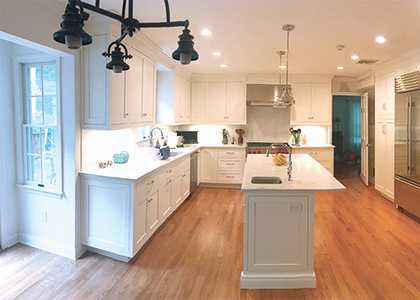 White Kitchen Design - Pound Ridge, NY