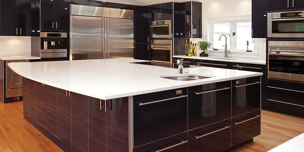 Modern kitchen design cabinetry westchester kbs for American made kitchen cabinets