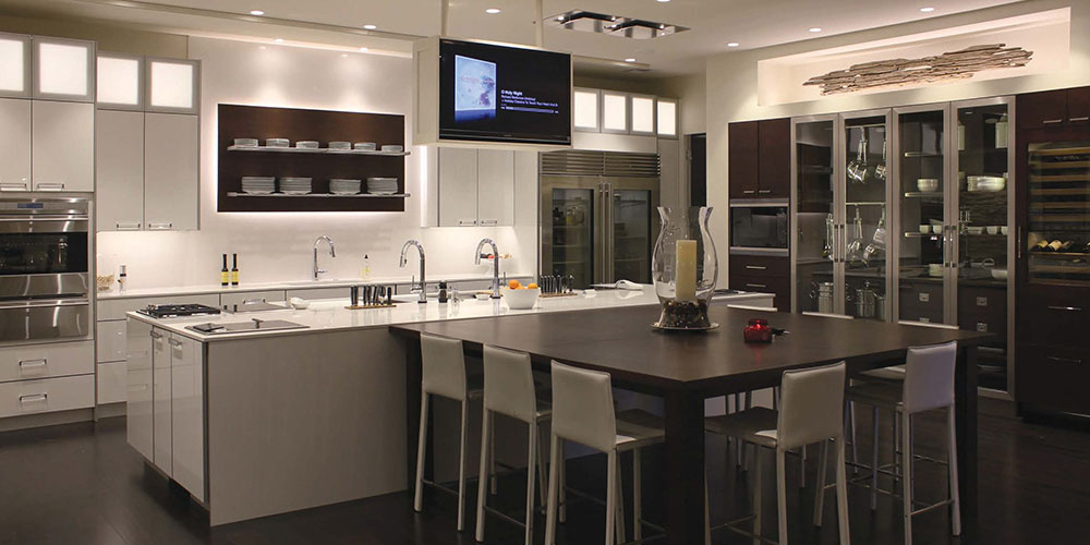 Modern Kitchen Design & Cabinetry Westchester | KBS Kitchen ...