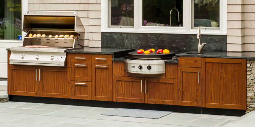 Outdoor Kitchen Cabinets Westchester Putnam Fairfield KBS - Outdoor kitchens cabinets
