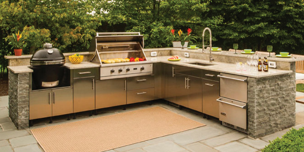 Outdoor Kitchen Cabinets Westchester, Putnam, Fairfield | Kbs