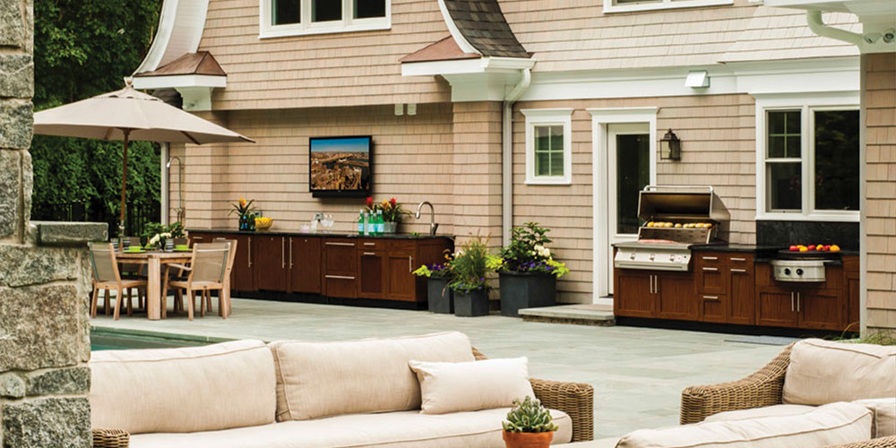 Brown Jordan Outdoor Kitchen Cabinets Greenwich, CT