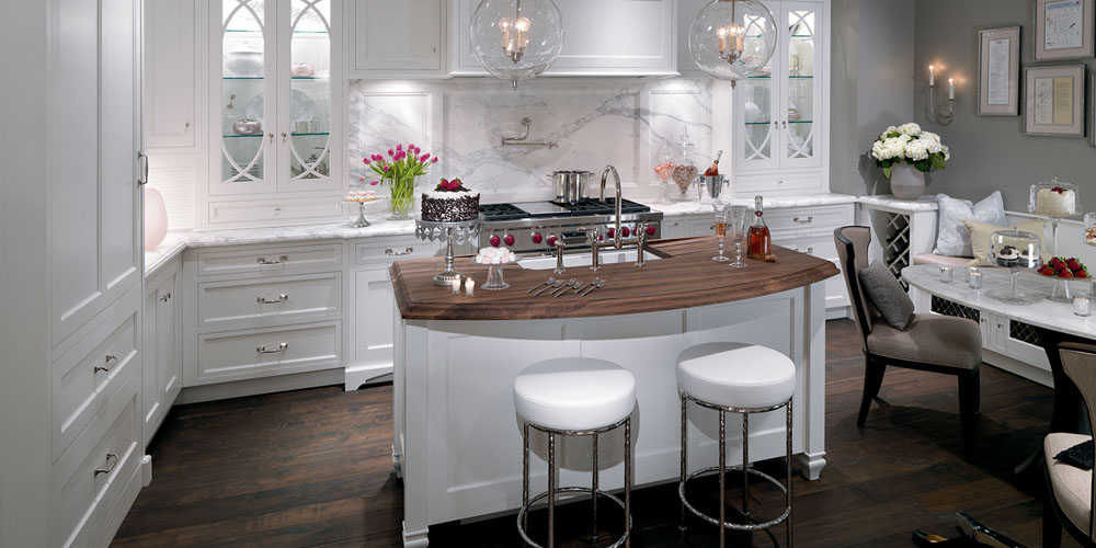 Plain & Fancy - Traditional White Kitchen Cabinets - Katonah, NY