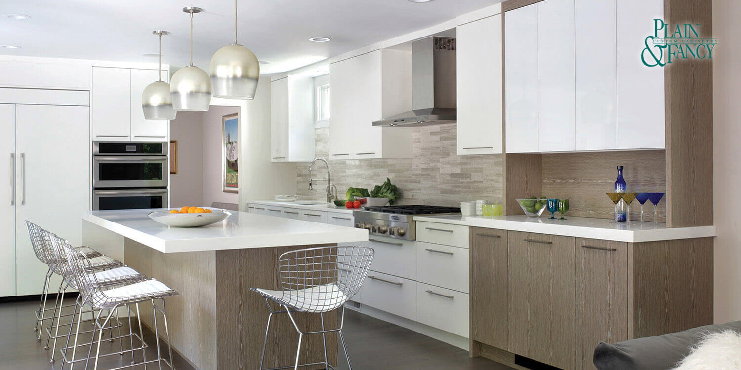 Modern Kitchen Remodeling - Plain and Fancy Cabinets, Greenwich, CT