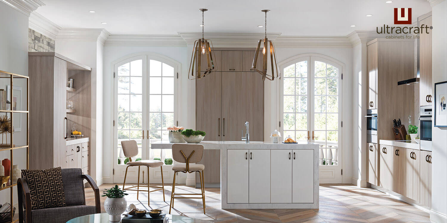 Transitional Kitchen Design - Kitchen Cabinets - UltraCraft, Bronxville, NY