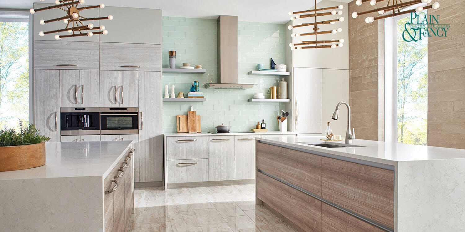Milano - European Kitchen Design - Plain and Fancy Cabinets, Scarsdale, NY