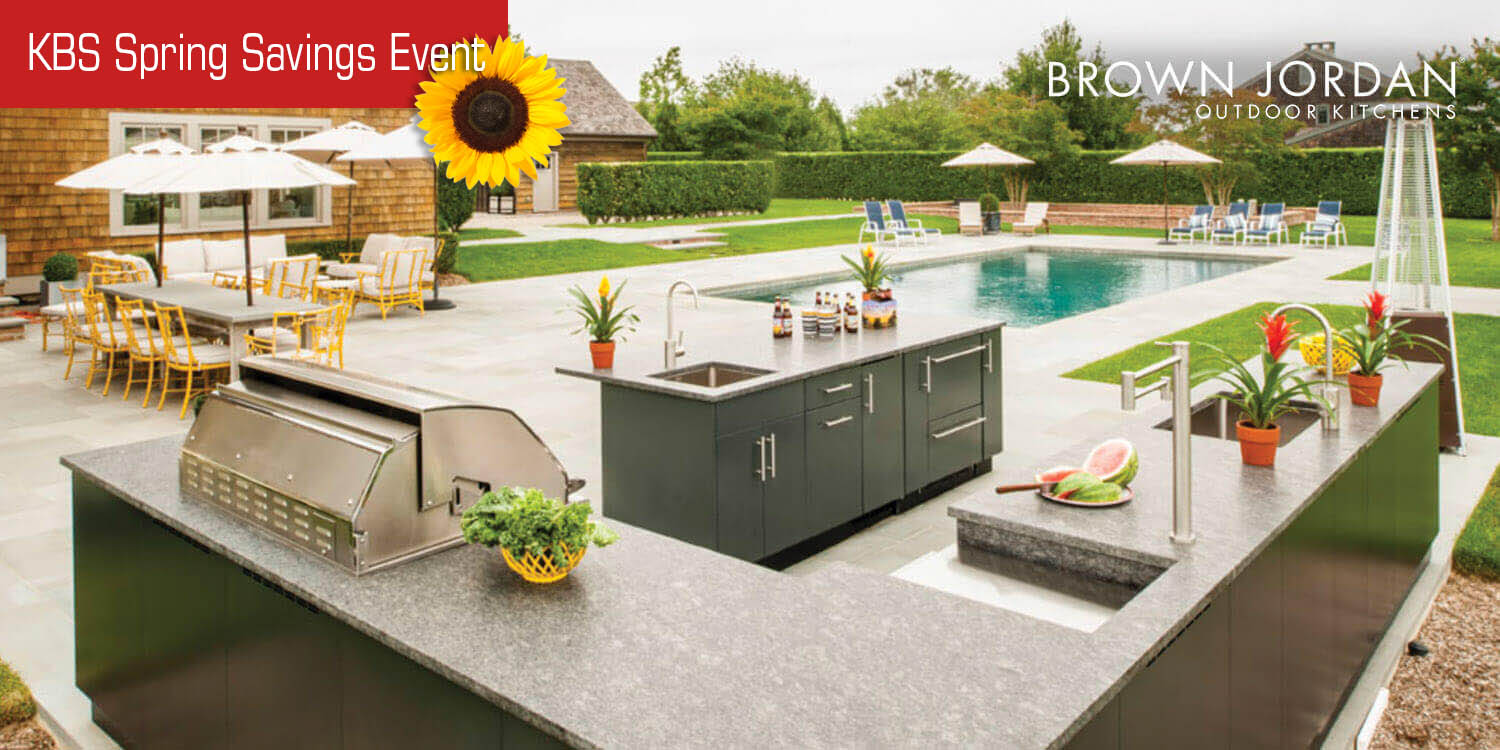Charmant ... NY Outdoor Kitchen Cabinets By Brown Jordan, Westchester, NY ...