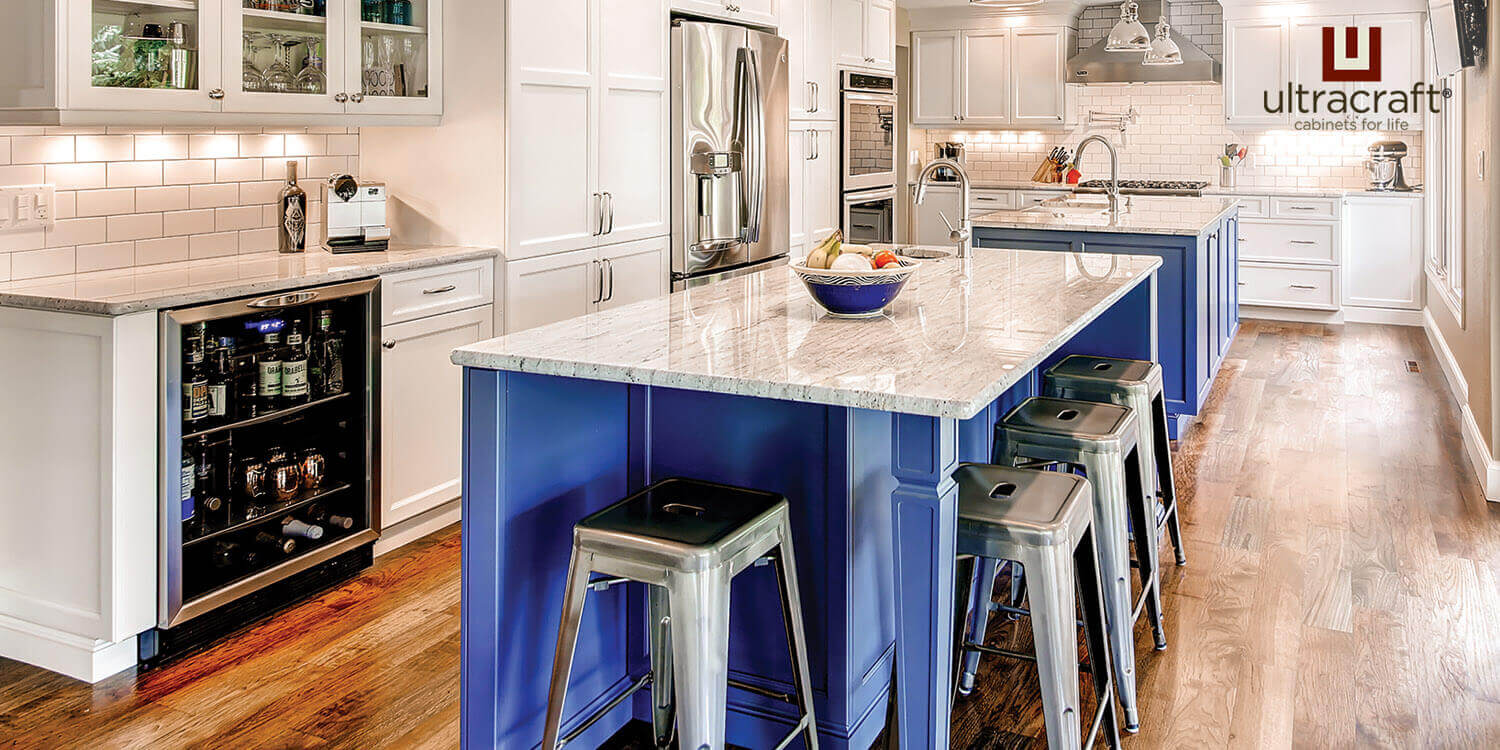 Contemporary Kitchen Cabinets - UltraCraft, Chappaqua, NY