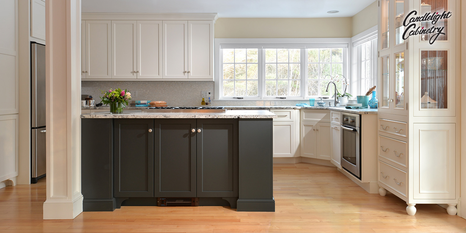 Transitional Kitchen Design from Candlelight Cabinetry