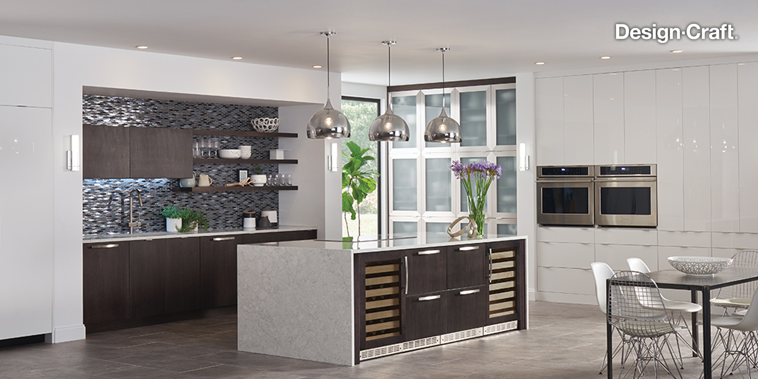 Modern Kitchen Remodeling - Design-Craft Cabinets, Pound Ridge, NY