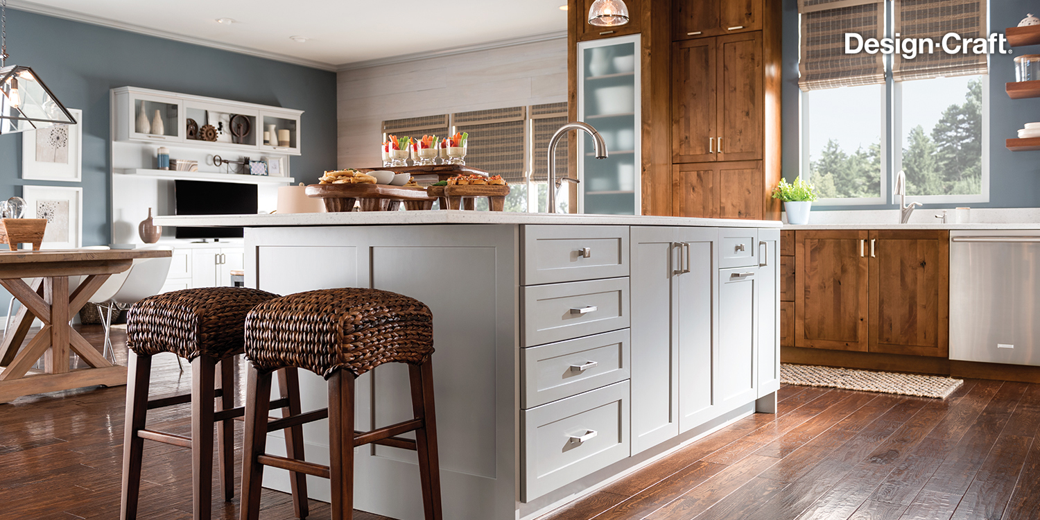 Transitional Kitchen Remodeling - Design-Craft Cabinets, Greenwich, CT