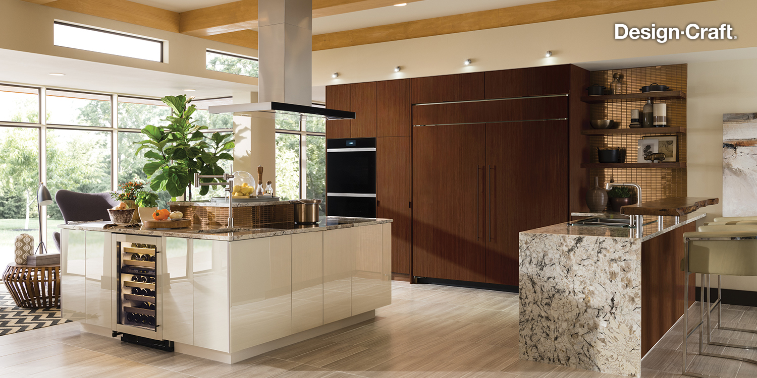 Modern Kitchen Design - Design-Craft Cabinets, Scarsdale, NY