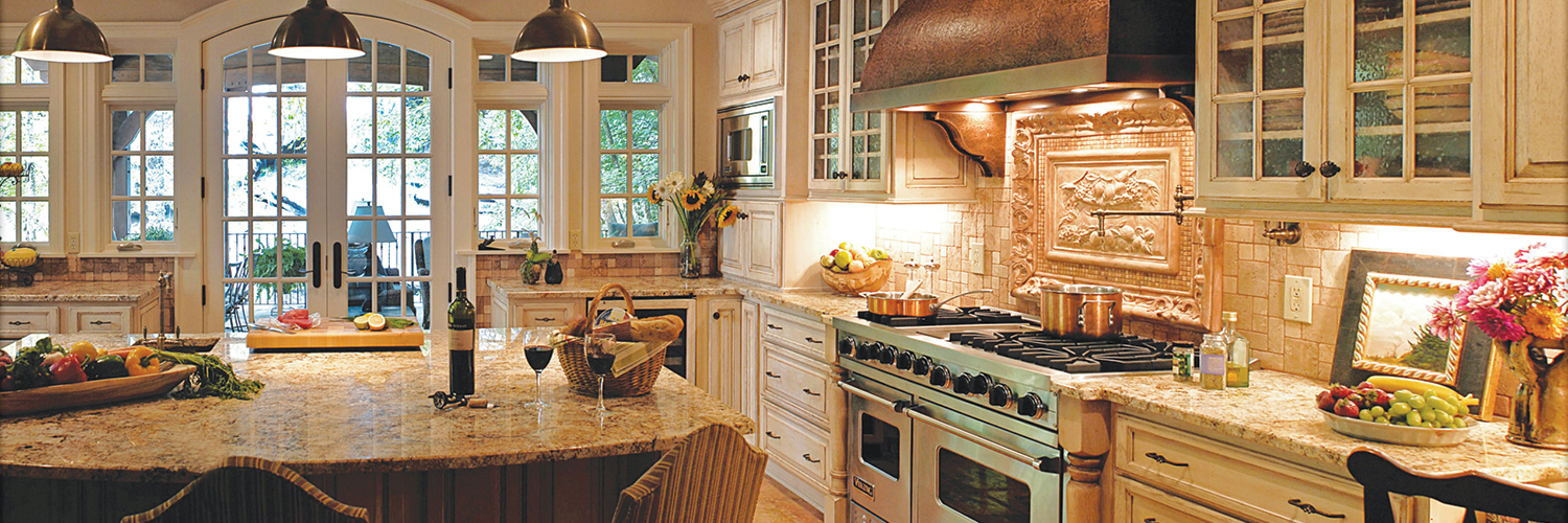 Transitional Kitchen by KBS Signature Custom Cabinetry