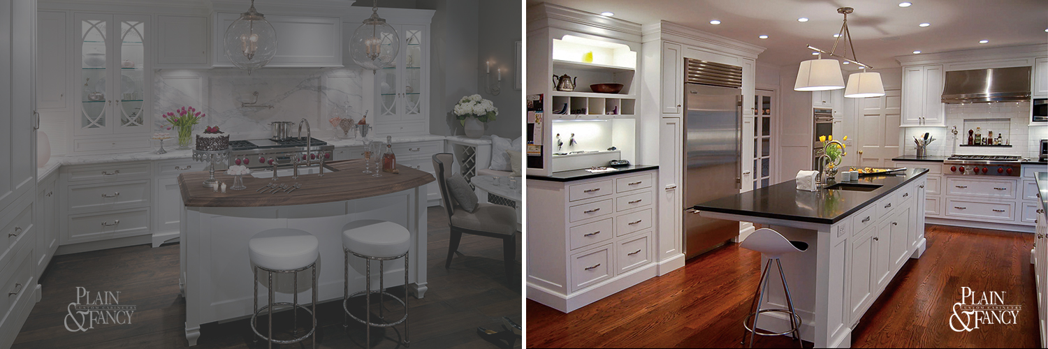 White Kitchen by Plain and Fancy